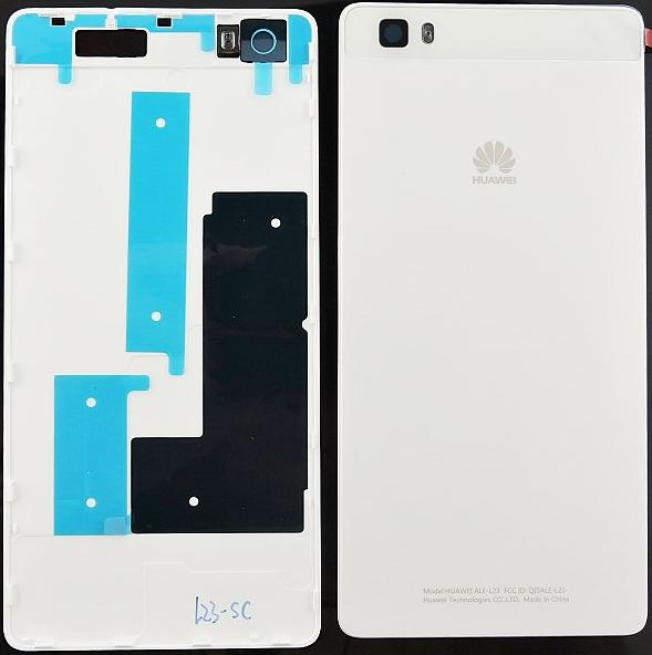 Zaní kryt baterie na Huawei Ascend P8 Lite bílý