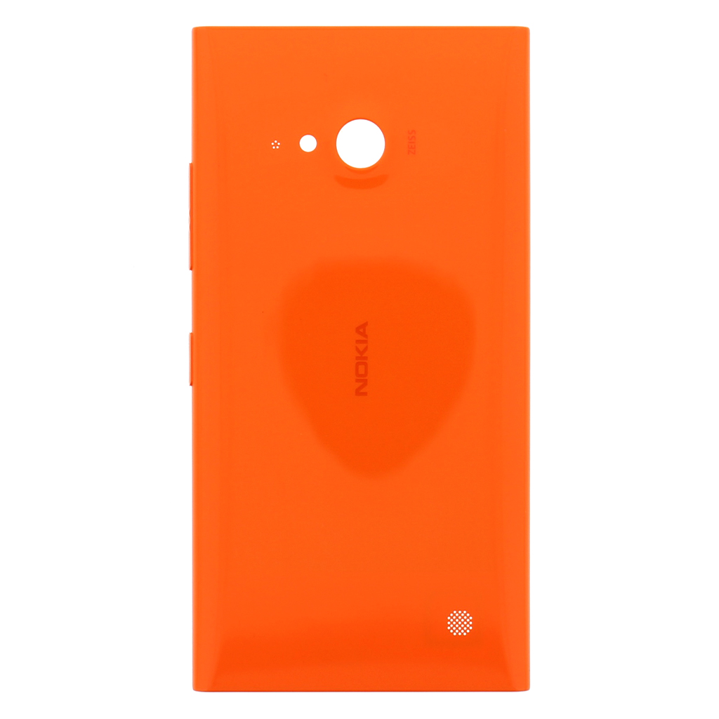 Nokia Lumia 730 Orange Kryt Baterie