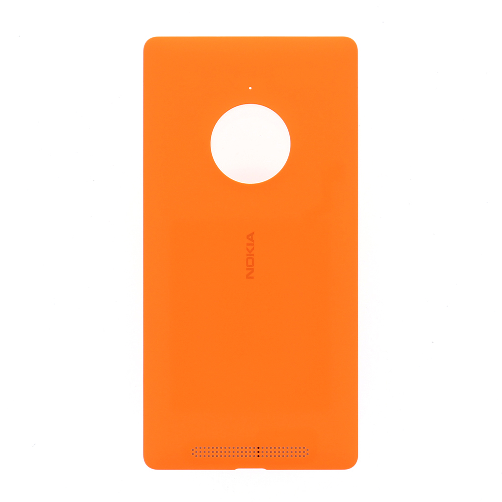 Zadní kryt baterie na Microsoft Lumia 830 oranžový vč. NFC