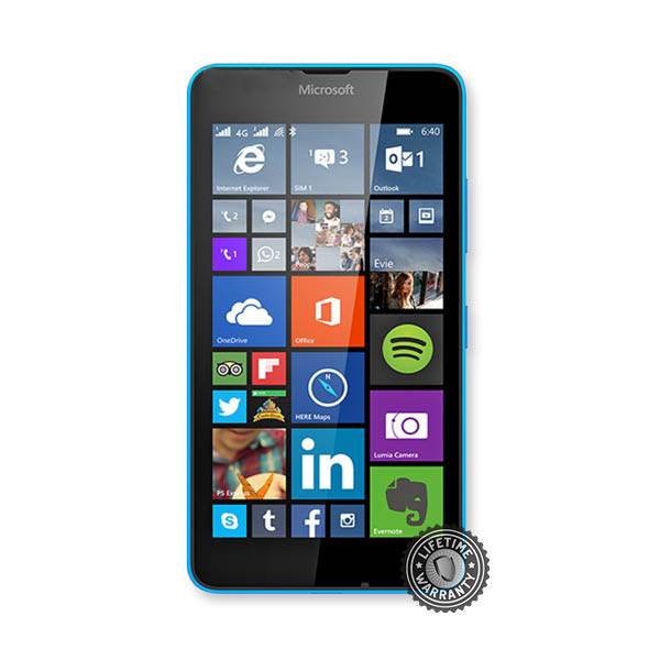 Tvrzené sklo Screenshield na Microsoft Lumia 640