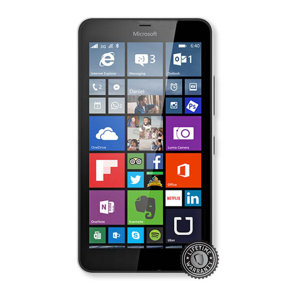 Tvrzené sklo Screenshield na Microsoft Lumia 640 XL