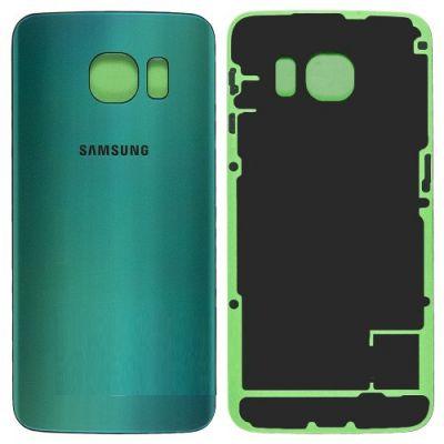 Zadní kryt baterie na Samsung Galaxy S6 G925 Edge zelený