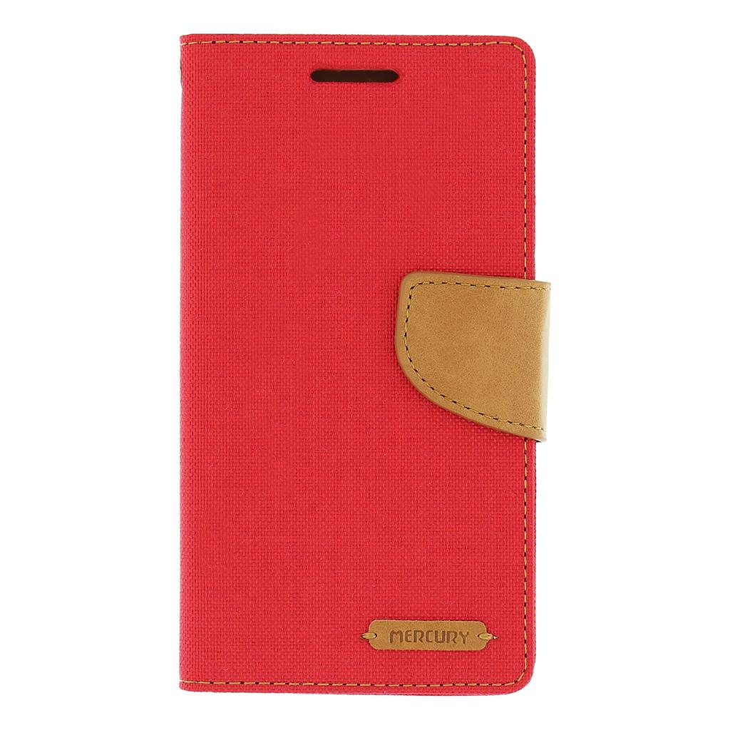 Pouzdro na Samsung Galaxy Grand Prime (G530) Mercury Canvas červené