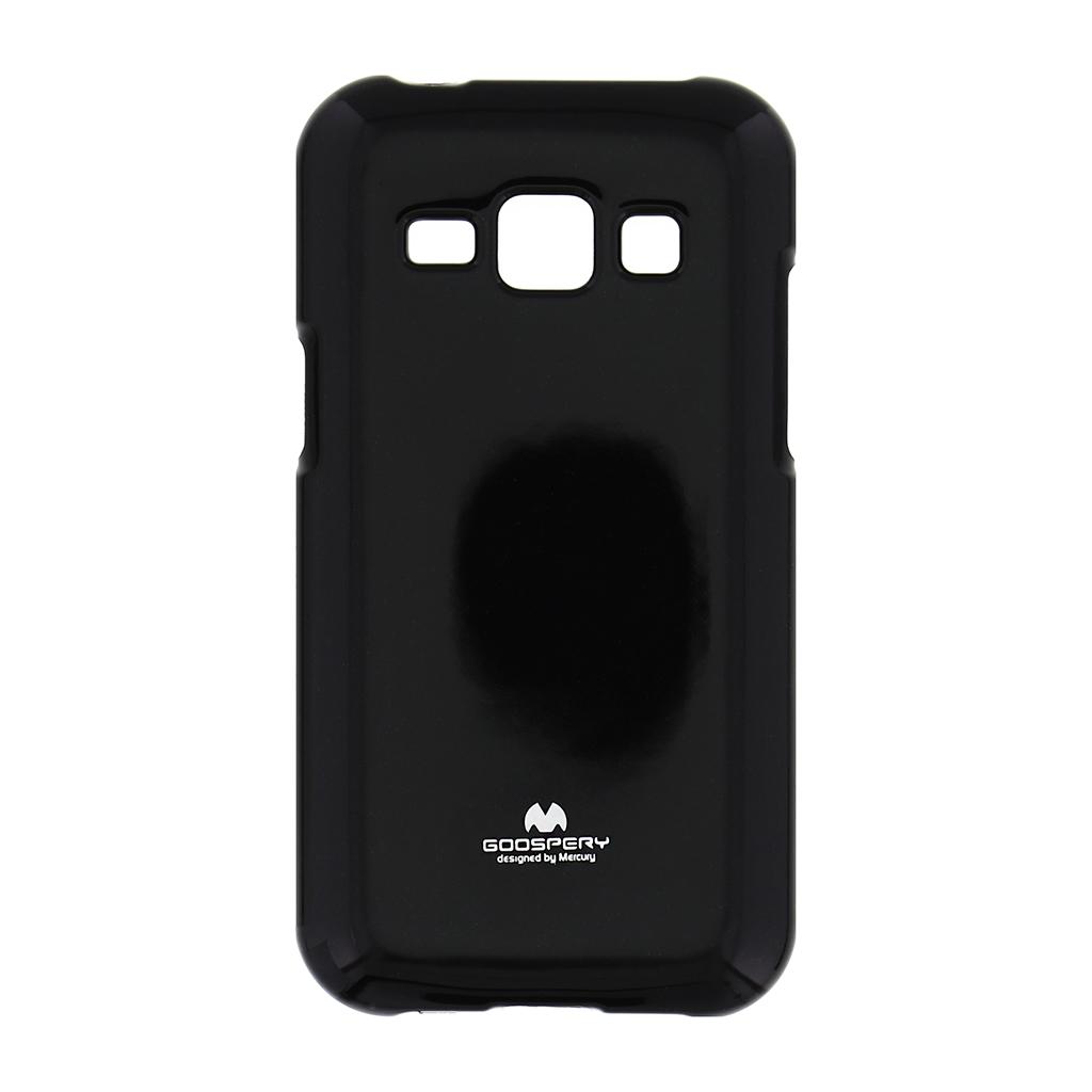 Pouzdro na Samsung Galaxy J500 Mercury Jelly černé