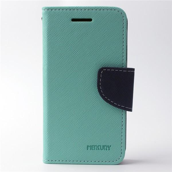Pouzdro na Samsung Galaxy J500 Mercury Fancy zelené