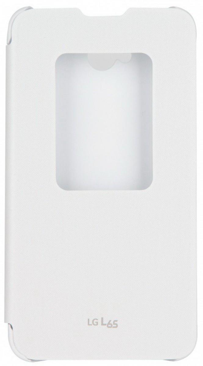 Originální pouzdro QuickWindow pro LG L65 bílé