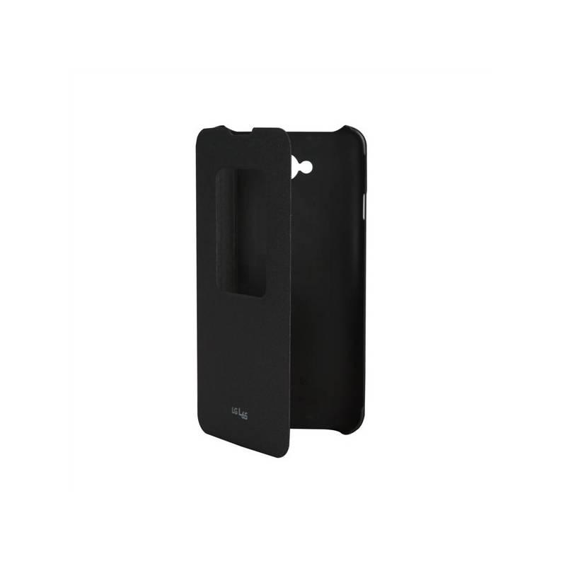 Originální pouzdro na mobil LG L65 S-view černé