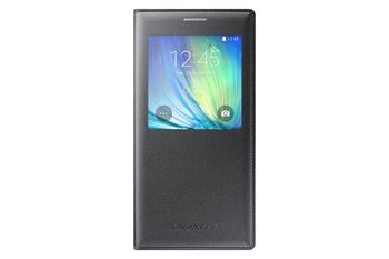 Pouzdro na mobil Samsung Galaxy A7 S-view EF-CA700BCE černé