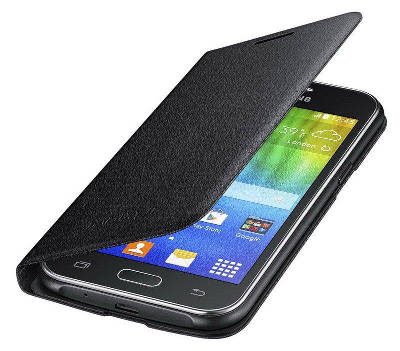 Originální pouzdro na Samsung Galaxy J1 EF-FJ100B černé