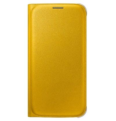Originální pouzdro na Samsung Galaxy S6 EF-WG920PYE žluté
