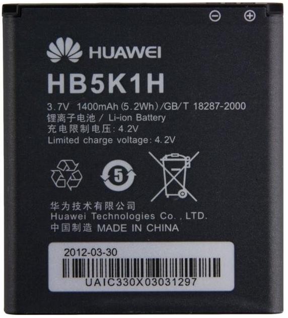 Originální baterie Huawei HB5K1H 1400mAh Li-Ion (Bulk)