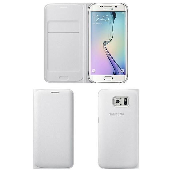 Originální pouzdro na Samsung Galaxy S6 Edge EF-WG925PWE bílé