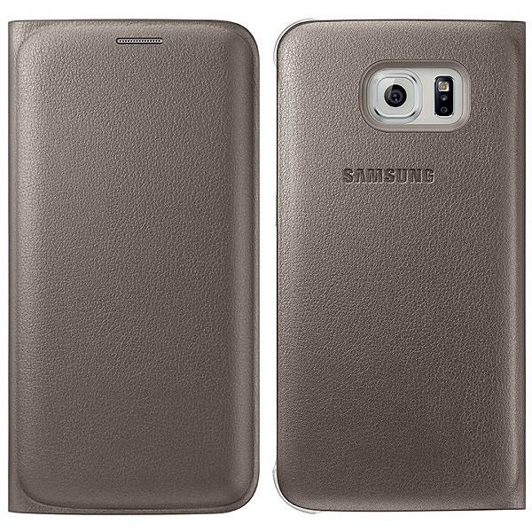 Originální pouzdro na Samsung Galaxy S6 Edge EF-WG925PFE zlaté