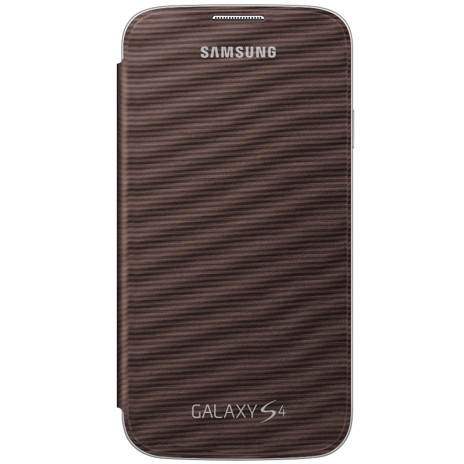 Originální pouzdro na Samsung Galaxy S4 EF-FI950BA hnědé