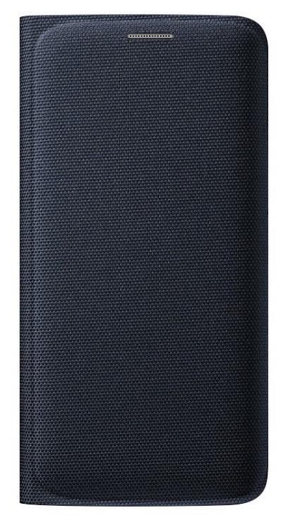 Originální pouzdro s kapsou na Samsung Galaxy S6 Edge EF-WG925B černé