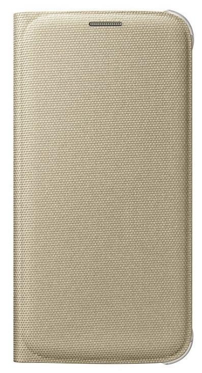 Originální pouzdro s kapsou na Samsung Galaxy S6 EF-WG920B zlaté