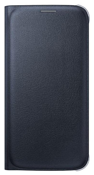 Originální pouzdro s kapsou na Samsung Galaxy S6 EF-WG920P černé
