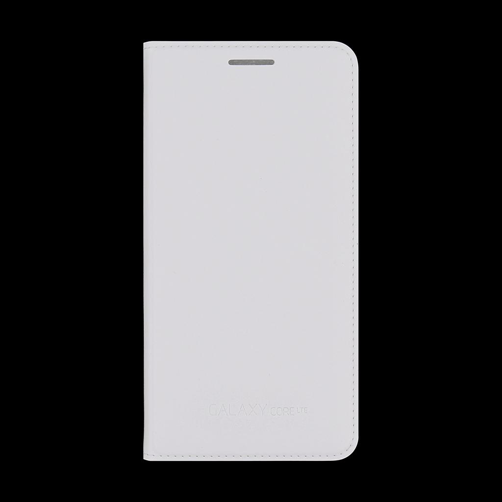 Originální pouzdro na Samsung Galaxy Core LTE EF-WG386BWE bílé