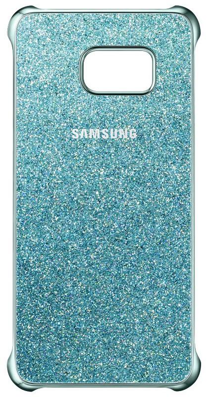 Samsung EF-XG928CL Glitter ochranný kryt pro G928 Galaxy S6 Edge+, Blue