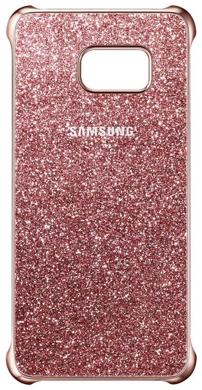 Samsung EF-XG928CP Glitter ochranný kryt pro G928 Galaxy S6 Edge+, Pink