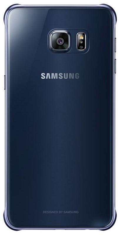 Originální zadní kryt na Samsung Galaxy S6 Edge+ EF-QG928CB modro/černé