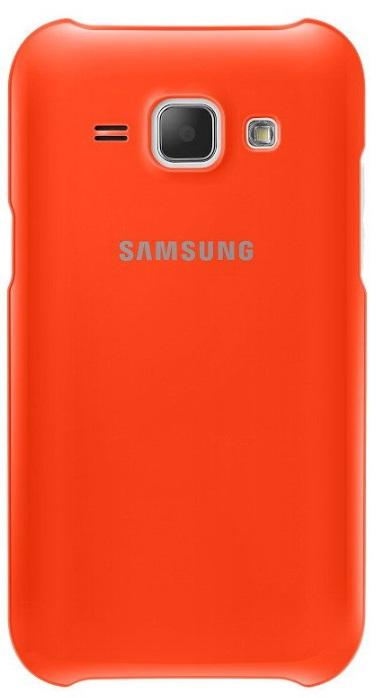 Originální zadní kryt na Samsung Galaxy J1 EF-PJ100B oranžové