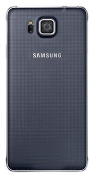 Originální zadní kryt na Samsung Galaxy Alpha EF-OG850S černé