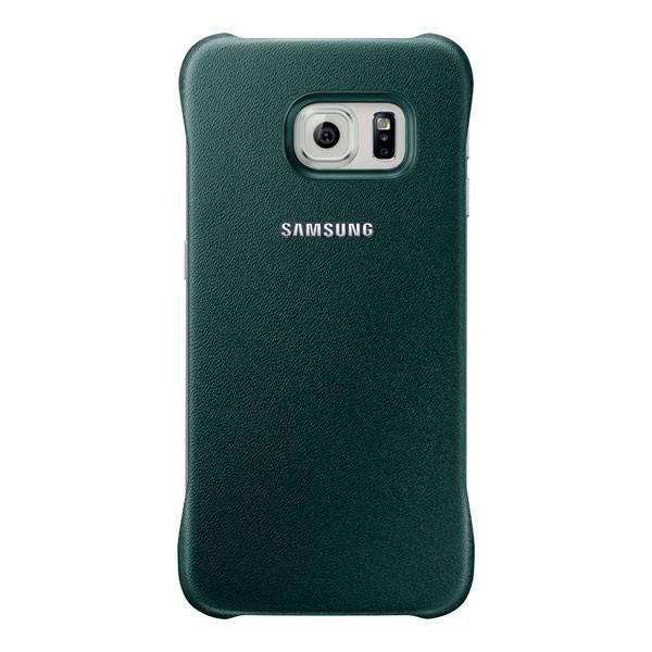 Originální zadní kryt na Samsung Galaxy S6 Edge EF-YG925BGE tmavě zelené