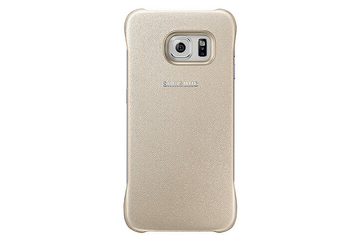 Originální zadní kryt na Samsung Galaxy S6 Edge EF-YG925BFE zlaté