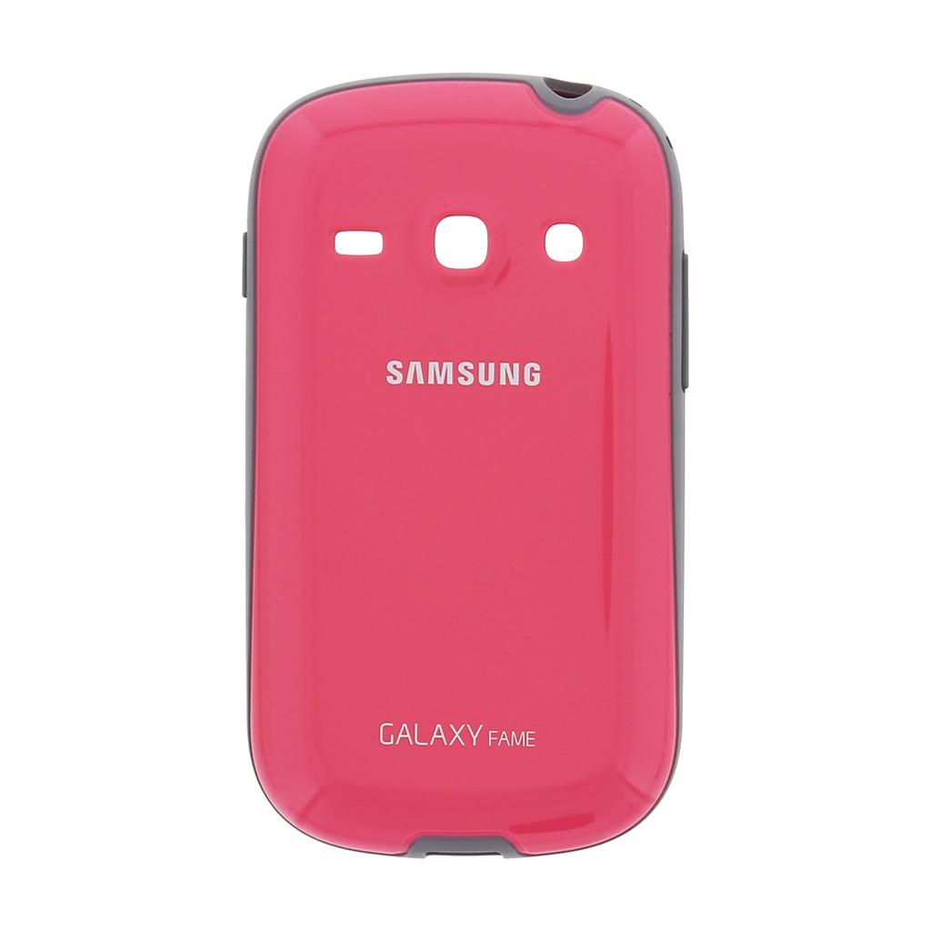 Originální zadní kryt na Samsung Galaxy Fame EF-PS681BPE růžové