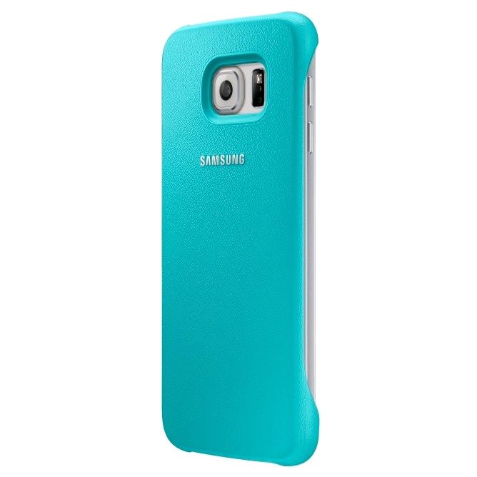 Originální zadní kryt na Samsung Galaxy S6 EF-YG920BME zelené