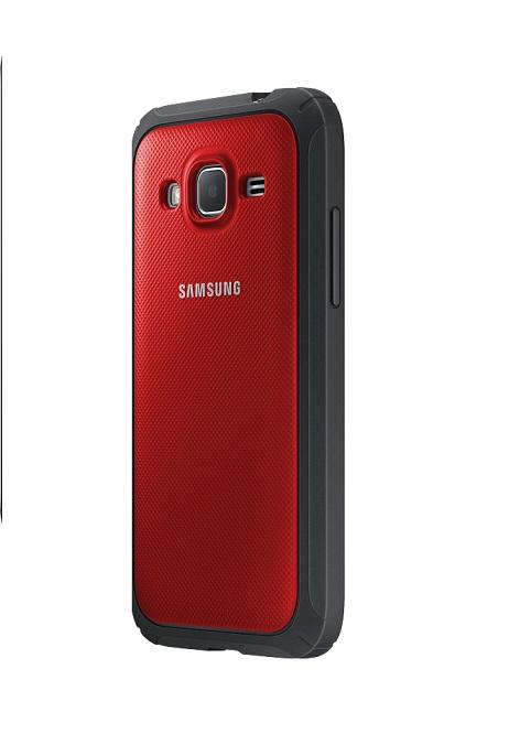 Originální zadní kryt na Samsung Galaxy Core Prime EF-PG360B červené