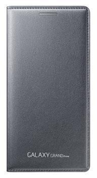 Originální pouzdro s kapsou na Samsung Galaxy Grand Prime EF-WG530B šedé