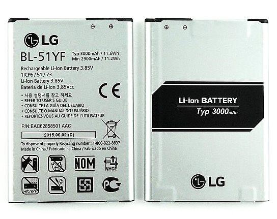 LG Baterie BL-51YF 3000mAh Li-Ion (Bulk)