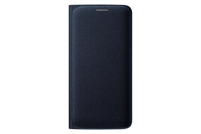 Originální pouzdro s kapsou na Samsung Galaxy S6 Edge EF-WG925BBE černé