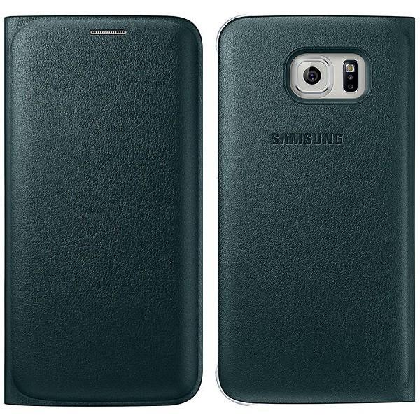 Originální pouzdro na Samsung Galaxy S6 Edge EF-WG925PGE zelené