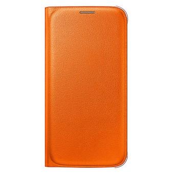 Originální pouzdro na Samsung Galaxy S6 EF-WG920POE oranžové