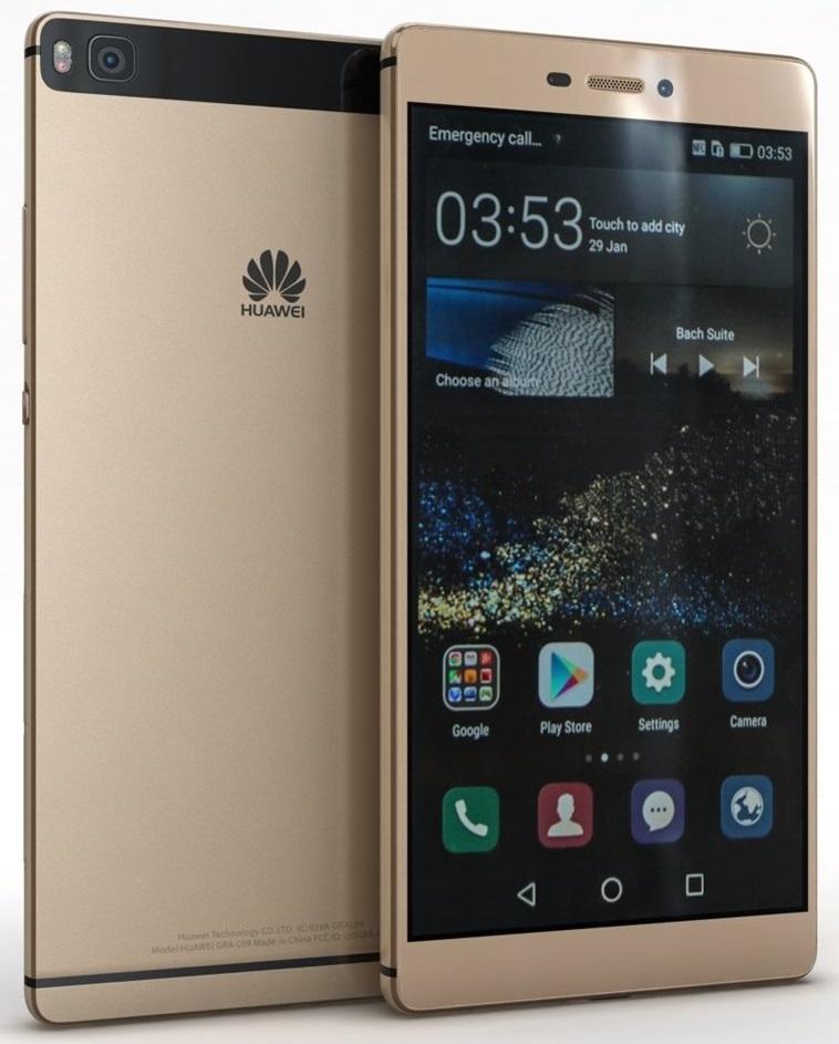 Huawei P8 Premium Dual SIM Gold