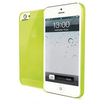 Silikonové TPU pouzdro CELLY Gelskin na Apple iPhone 5 zelené