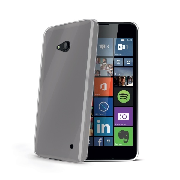 Silikonové pouzdro CELLY Gelskin pro Microsoft Lumia 640 / 640 Dual SIM, bezbarvé
