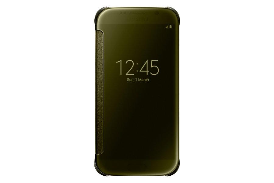 Originální pouzdro na Samsung Galaxy S6 EF-ZG920BFE zlaté