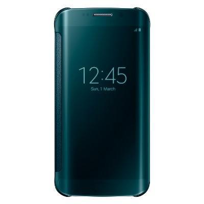 Originální pouzdro na Samsung Galaxy S6 Edge EF-ZG925BGE zelené
