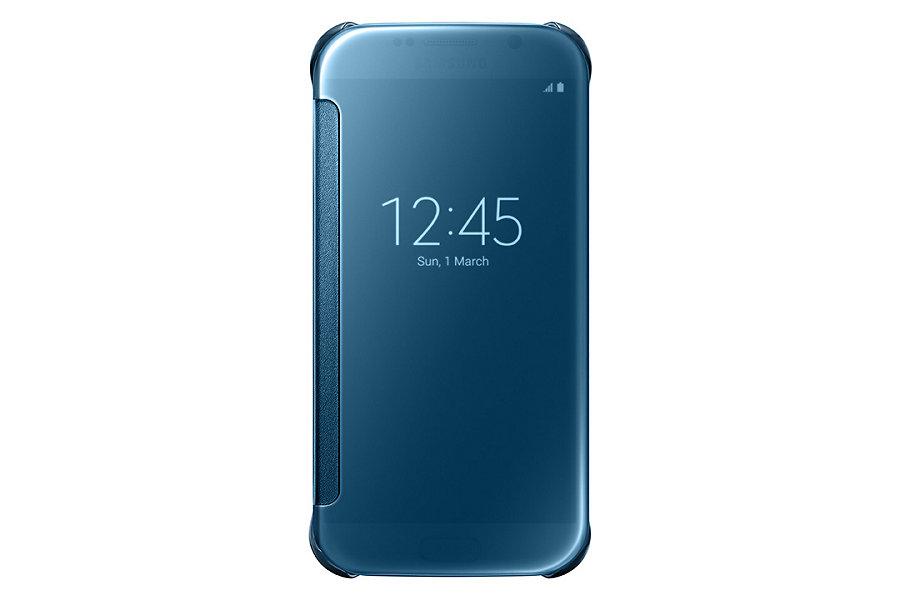 Originální pouzdro na Samsung Galaxy S6 EF-ZG920BLE modré