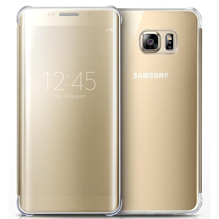 Originální pouzdro na Samsung Galaxy S6 Edge+ EF-ZG928CFE zlaté
