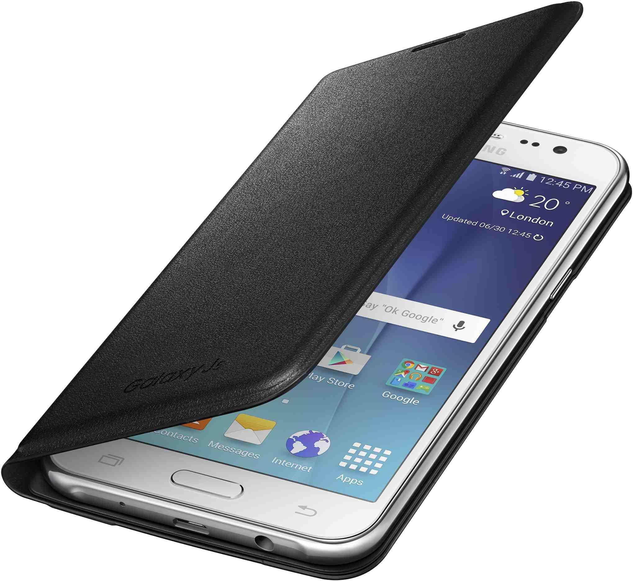 Originální pouzdro na Samsung Galaxy J5 EF-WJ500BBE černé
