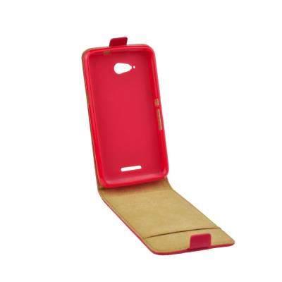 Pouzdro flip Samsung Galaxy J5 ForCell Slim Flexi červené
