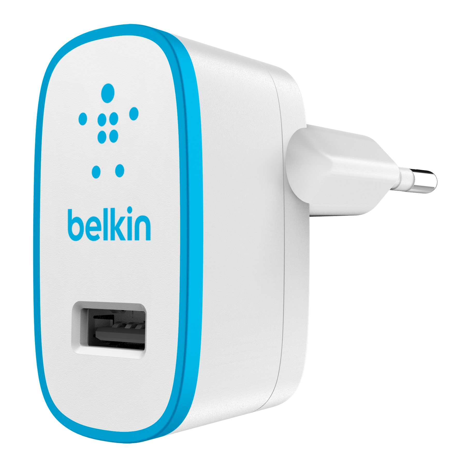 BELKIN USB 230V nabíječka, 1xUSB ,2.1A modrá