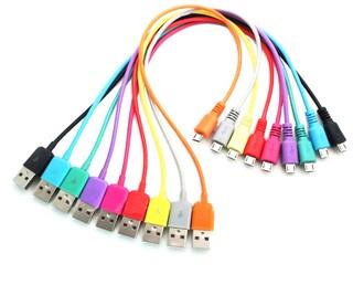 Datový kabel 4World microUSB 1m žlutý