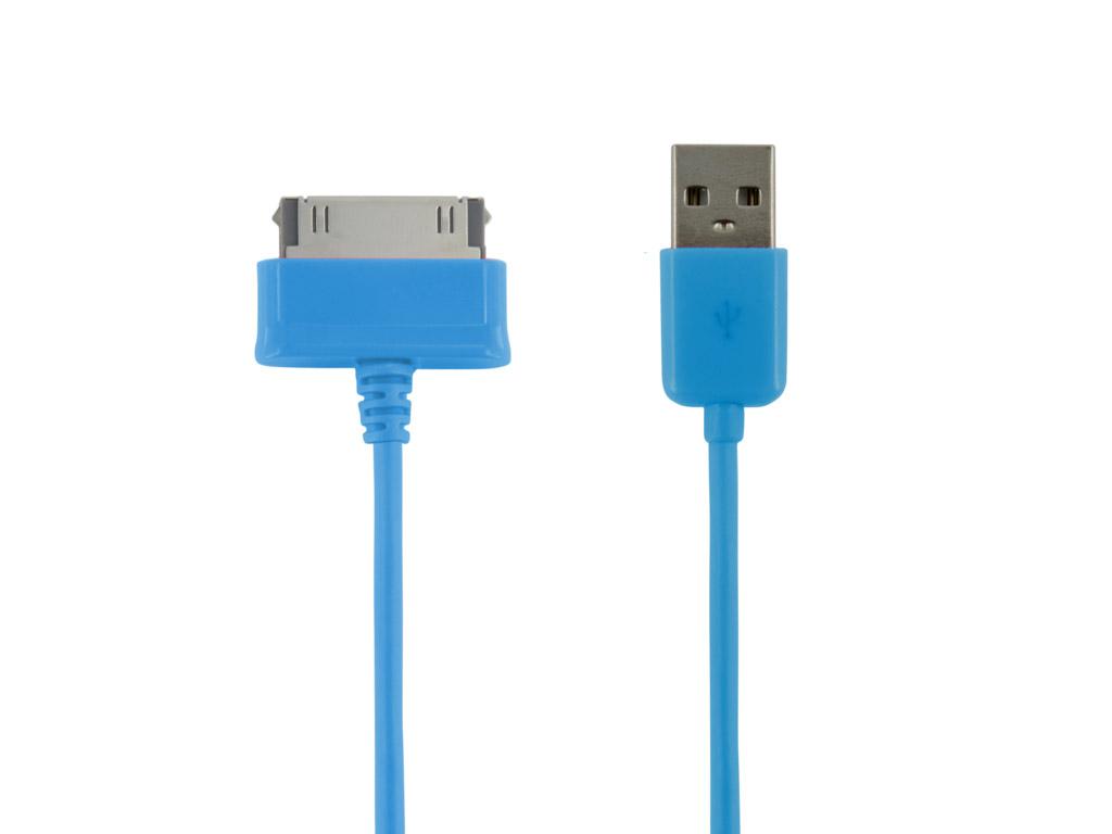 Datový kabel pro Galaxy Tab 4World 1m modrý