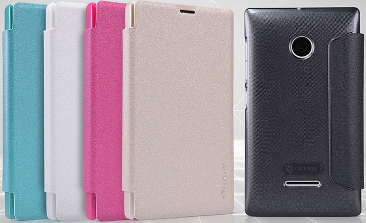 Pouzdro Nillkin Sparkle Folio na Lumia 532 černé